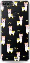 Casetastic Softcover Huawei P Smart - Rainbow Llama