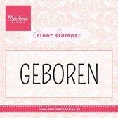 Marianne Design Stempel Geboren (Nederlands) CS0959