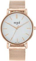 Regal - Regal mesh horlogemet rosekleurige band