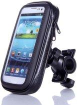 Fiets telefoonhouder - telefoonhouder - smartphone houder - stevig en waterdicht - ook voor GPS - maat L -