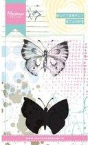 Marianne Design Cling Stempel Tinys Vlinders 1 MM1613