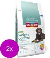 Smolke weight control hondenvoer 2x 12 kg