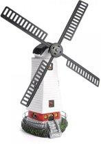 Windmolen met solarverlichting