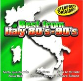 Italy 80 S - 90 S, Best From