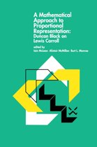A Mathematical Approach to Proportional Representation: Duncan Black on Lewis Carroll