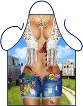 Party schort - Hippie dame