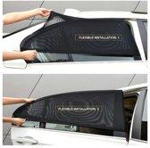 Set van 2 Flexibele Autoruit Covers – Als Zonnescherm Of Meer Privacy – Houd De Auto Koel