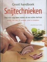 Boek cover Groot handboek snijtechnieken van Jeffrey Elliot (Hardcover)