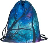 Zumprema Tripping trees - Gymtas - Blauw