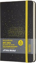 Moleskine Limited Edition Star Wars - 18 Months Weekly Planner 2017/2018 - Pocket - Hard Cover - Logo