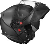 Helm SMK Gilde mat zwart ECE 22-05 certificering S Scooter/Motor