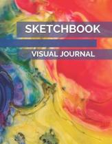 Sketch Book Visual Journal: Drawing Workbook to Practice and Improve Art Skills