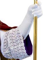 Handschoenen Sinterklaas maat XXL (wit)