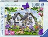 Ravensburger puzzel Delphinium Cottage - Legpuzzel - 1000 stukjes