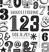 Omslag van 'Handlettering 123 doe je zo!'