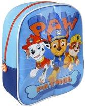 Paw Patrol Rugzak met Schrijfgedeelte + 2 Markers 23x28x9 cm Blauw/Oranje