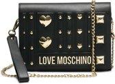 Love Moschino Love And More Dames Crossbodytas - Zwart