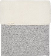 Koeka Wiegdeken Teddy Vigo - 75x100cm - Sparkle Grey/Pebble