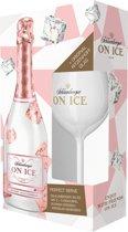 Schlumberger On Ice Rosé Giftpack met origineel Ritzenhof glas - 75cl