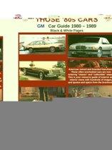 Those 80s Cars - GM (Black & White)
