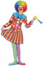 Clown Dotty kostuum / outfit voor meisjes - verkleedpak 128 (7-9 jaar)