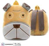 WinMax Luxe Rugzak / Tas / Schooltas voor Kinderen - Kinderrugzak voor Jongens en Meisjes - Mini Rugzakje Tasje voor o.a. Uitjes, Logeren en School - Hond