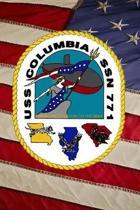US Navy Submarine USS Columbia (SSN 771) Crest Badge Journal