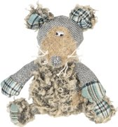 Clayre & Eef Shabby Chic Brocante Knuffel Muis Theo