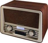 Soundmaster NR920DBR Nostalgische DAB+ / FM radio