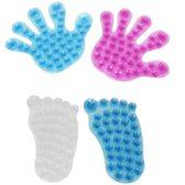 Badkamer ophang handje met zuignapjes / kleuren worden willekeurig verzonden