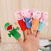 Peppa pig handpoppen - 5-delige set