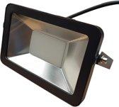LED buitenlamp zwart | 50W=550W LED schijnwerper | warmwit 4000K | waterdicht IP65