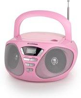 AudioSonic CD-1567 - Radio/CD-speler - Roze