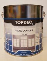 Topdeq Zijdeglansverf - Verf - Zijdeglans - Wit - 2,5L