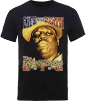 Biggie Smalls - Life After Death heren unisex T-shirt met rug print zwart - L