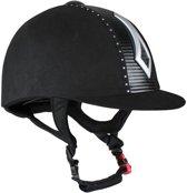 Horka Veiligheidshelm Falcon strass - zwart - mt 57