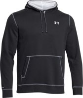 Under Armour Hoodie black white