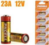 23a 12v hoge capaciteit alkaline batterijen - 5 stuks
