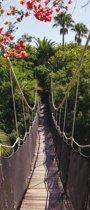 Hangbrug  - Fotobehang 91 x 211 cm