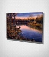 Wild Deer - Painting Canvas