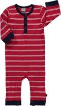 jongens Kledingset Pippi babykleding - Boxpak rood gestreept - Maat 50 5704617965732