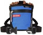 EzyDog SnakPak Treat Bag, hondenbeloningstasje, blauw