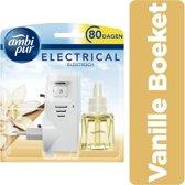 Ambi Pur Electrical Vanille Boeket Startset - 20 ml - Luchtverfrisser