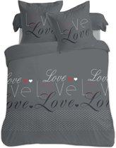 VISION Love - Dekbedovertrek - Tweepersoons - 200x200cm