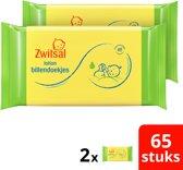 Zwitsal Billendoekjes Lotion - 130 stuks - Duoverpakking