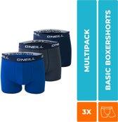 Heren Boxershorts set van 3 Boxers Navy/Cobalt 900003