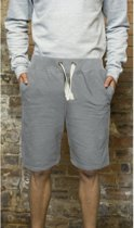 Grijze campus shorts voor heren L