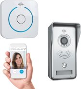 ELRO DVC040IP Wifi IP Video Deurbel - Camera met nachtzicht - met Binnengong - Bekijken en communiceren via App