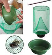 Wespenverjager   Verjaagd Wespen   Weg met Wespen   Hangende Wespenvanger   Anti Wesp   Insectenvanger   Insectenval   Met ophanghaak   Groen   Axties®