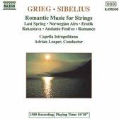 Grieg Sibelius Romantic Music for Strings Adrian Leaper et al